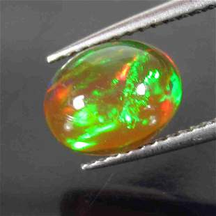 IGI Certified 1.73 Cts Honey Opal