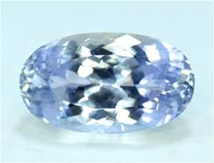 23.50 cts Aqua Color spodumene Gemstone From AFG
