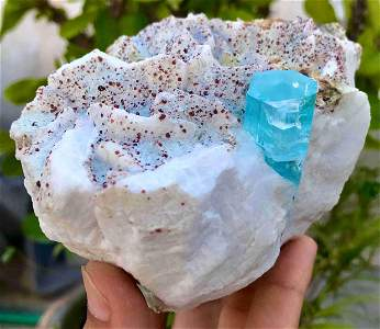 1053 Grams Amazing Terminated Natural Blue Color
