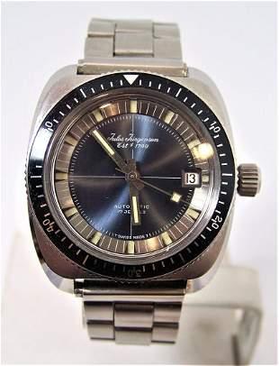 Mens S/Steel JULES JURGENSEN Automatic Watch Divers
