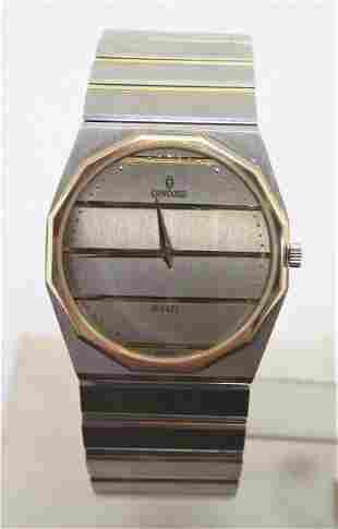 18k & S/Steel CONCORD MARINER SG Mens Quartz Watch 15