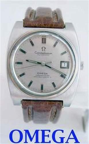 Mens c.1975 s/s OMEGA CONSTELLATION Chronometer