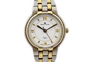 Vintage Maurice Lacroix 76201 Stainless Steel Two Tone