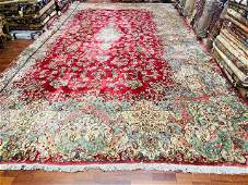 Mint antique Persian Large size a,ll over Kerman