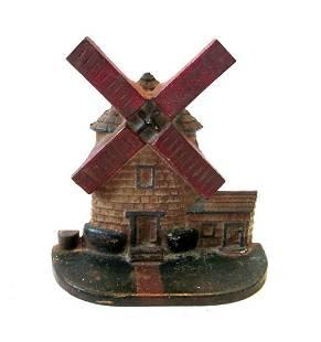 Windmill Doorstop