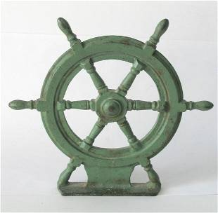 Nice vintage cast iron ship
