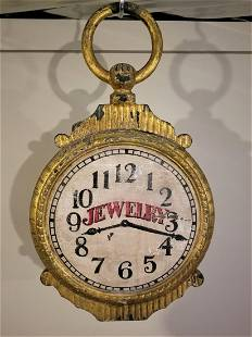 Small Watch Trade Sign In Metal And Wood