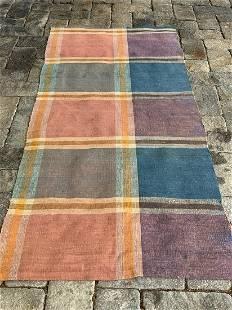 c. 1890 rag carpet