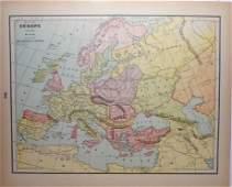 Europe A.D. 800