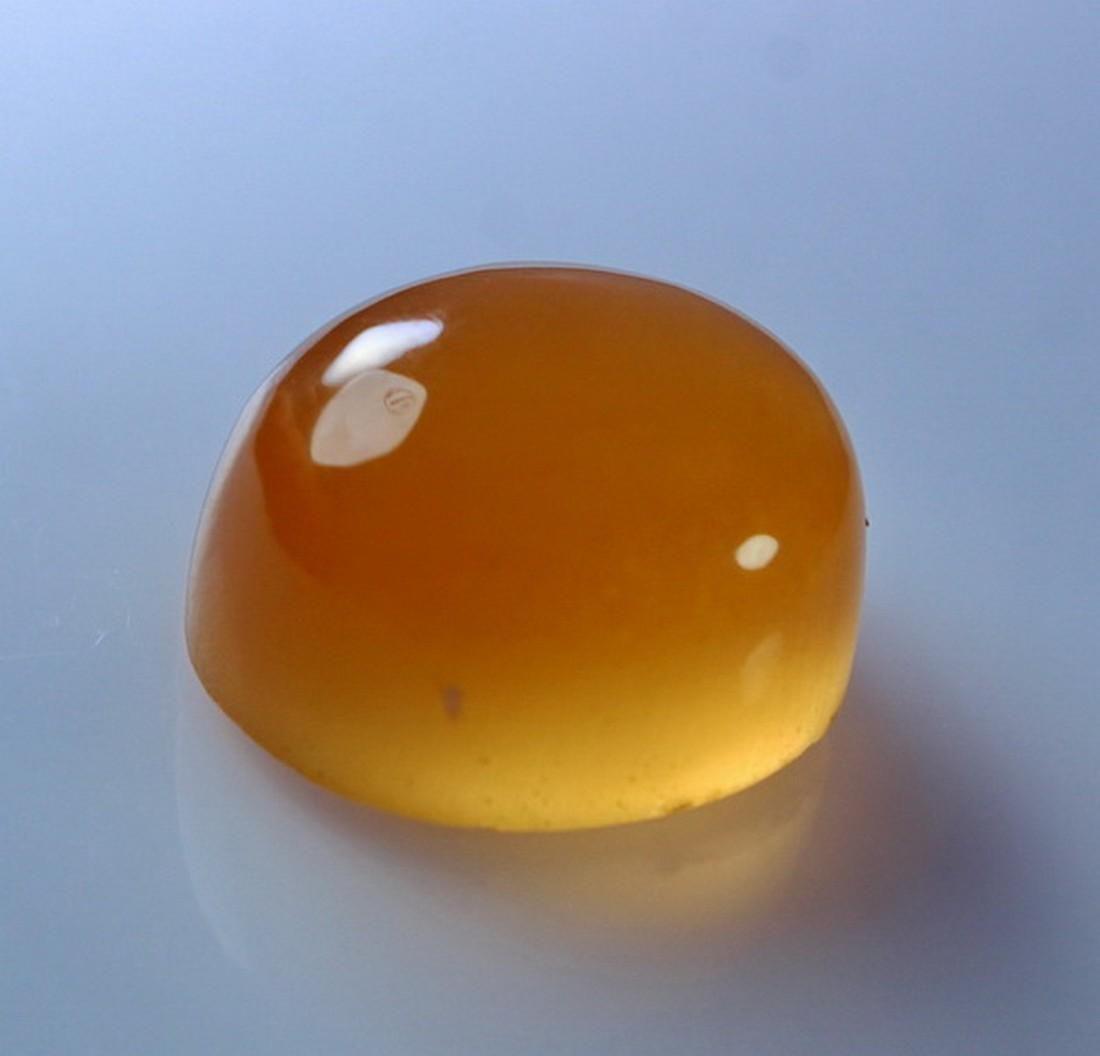 Natural & unheated~ Orange Calcite Cabochon