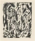Otto Gleichmann original lithograph