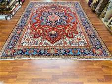 Antique Persian Room size Heriz Rug-4776