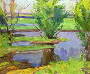 Oil painting Spring Kochan B.