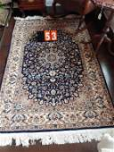 Semi Antique Hand Woven Persian Tabriz 4x6