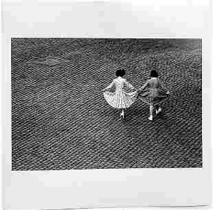 Herbert List: View from a Window:Dance of the Dresses.