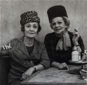 DIANE ARBUS - Two Ladies at the Automat, N.Y.C. 1966