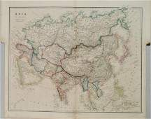 1842 Arrowsmith Map of Asia -- Asia