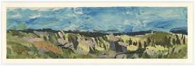 "Georges Braque lithograph ""Paysage"""