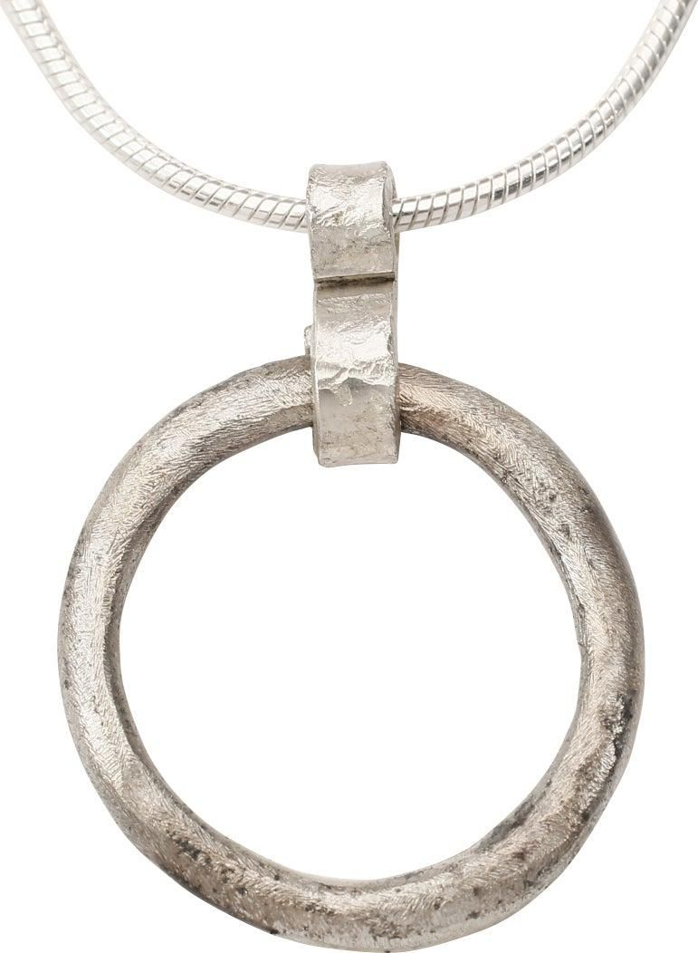 CELTIC PROSPERITY RING NECKLACE C. 400-100 BC