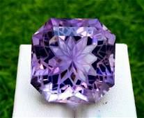 Amethyst, 47.65 Carats Natural Top Color Fancy Flower