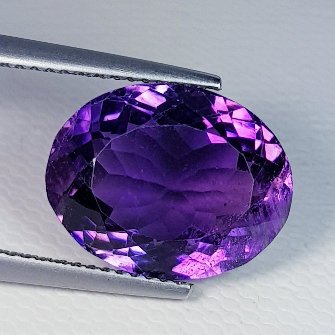 Natural Amethyst Oval Cut 9.50 ct