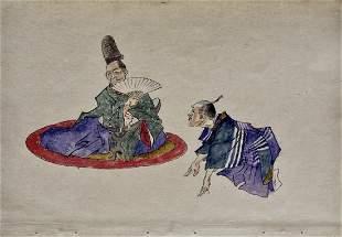 Yoshitoshi: Sorori Shinzaemon and Hideyoshi