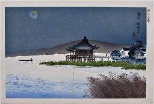 Tokuriki: Lake Biwa, Ukimido Temple