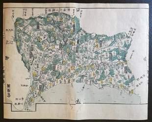 Japan 1820. Province Hitachi; Motonobu Aoo Toshiro