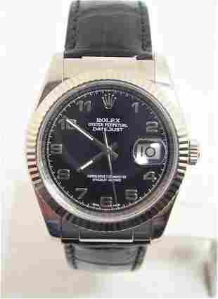 Vintage Mens ROLEX Oyster DATEJUST Automatic Watch Ref