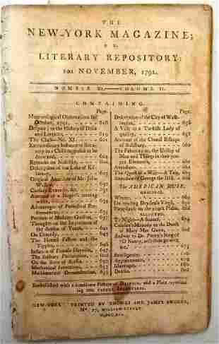 1791 Magazine Description of Washington City