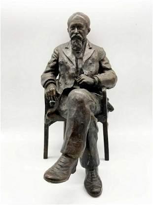 Russia bronze sculpture of a Member of the State Duma
