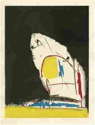"Robert Motherwell pochoir ""Capriccio"""