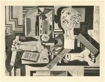 Pablo Picasso - Cubist Composition