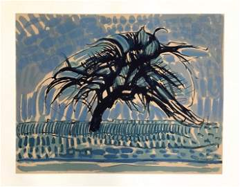 "Piet Mondrian serigraph ""L"