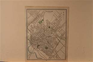 1898 Map of Dallas