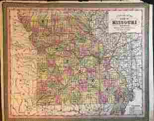Missouri. 1850 by Thomas