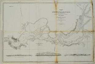 1850 Sacramento and San Joaquin Rivers Chart -- Chart