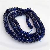 182.09 Ct Natural 119 Blue Sapphire Round Beads