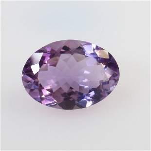 6.48 Ct Natural Purple Amethyst Oval Cut