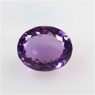 13.30 Ct Natural Purple Amethyst Oval Cut