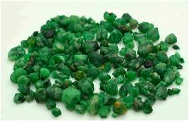35 Grams Beautiful Emerald Rough Lot