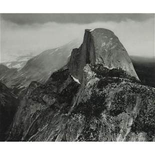 ANSEL ADAMS - Half Dome from Glacier Point,