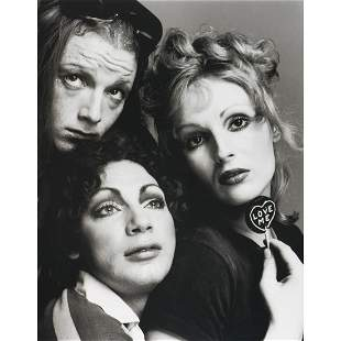 RICHARD AVEDON - Jackie Curtis, Holly Woodlawn & Candy