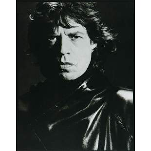 DAVID BAILEY - Mick Jagger