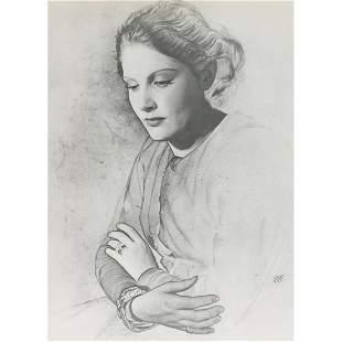 ERWIN BLUMENFELD - Solarized Portrait