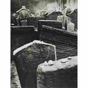 JINDRICH BROK - Old Jewish Cemetary