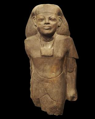 Egyptian statue of a high priest