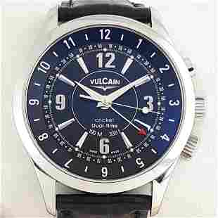 Vulcain - Cricket Dual Time - Ref: 100.105.020 - Men -
