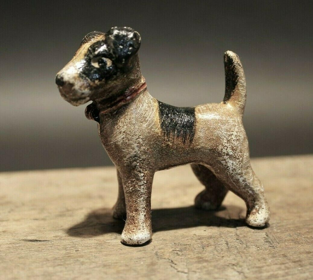Miniature Cast Iron Terrier Dog