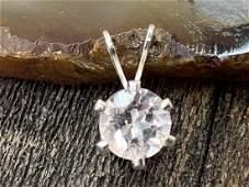 Morganite (Pink Beryl) Natural Faceted Gemstone .925